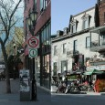 Same city(Montreal),  two streets and two strikingly different approaches to the public realm. Both streets are intensely public and encompass a range of uses but are predominantly gathering and socializing spaces....