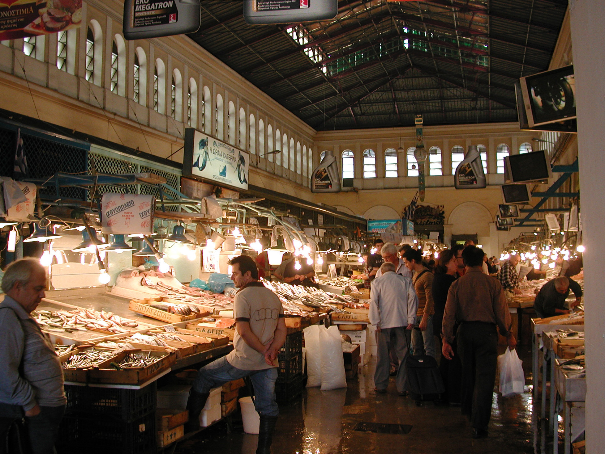 A fish market: A historic relic in the city centre